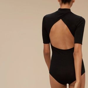 Wilfred Free Black Heydorn Bodysuit